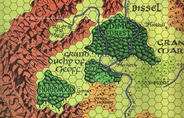 We Began Here Simply Because Against The Cult Of The Reptile God Is Set In  Hochoch And The Areas North Of The Rushmoors. But The Longer We Played In  Those ...